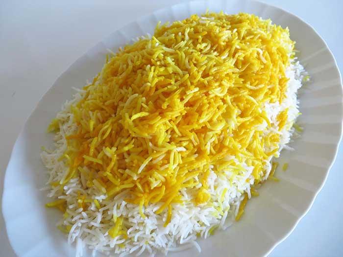 شیوه-پخت-برنج-رستورانی